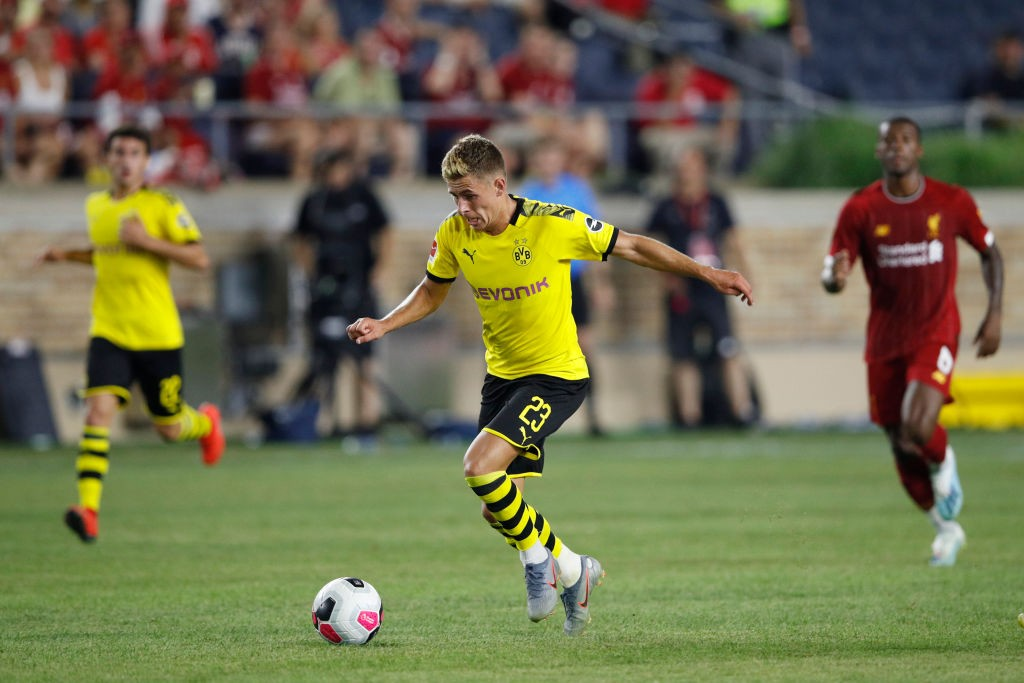 Borussia Dortmund v Liverpool - Pre-Season Friendly - Thorgan Hazard