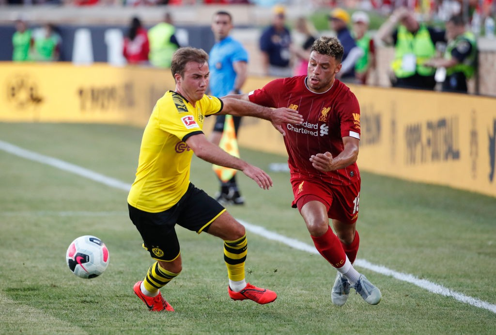 FBL-FRIENDLY-BORUSSIA-LIVERPOOL - MARIO GOETZE